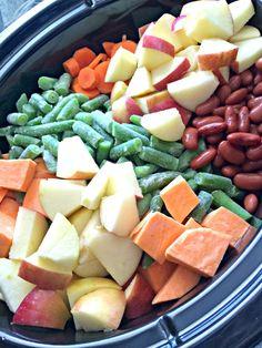 DIY Slow Cooker Dog Food |www.pearlsandsportsbras.com|