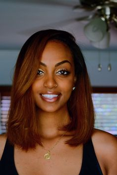 ombre hairstyles black women