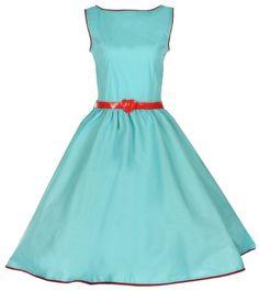 Lindy Bop Classy Vintage Audrey Hepburn Style 1950's Rockabilly Swing Evening Dress (XS, Turquoise) Lindy Bop,http://www.amazon.com/dp/B00COJKHWQ/ref=cm_sw_r_pi_dp_D1oisb10EKVMX231