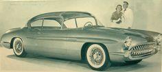 1956 Corvette Impala concept