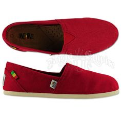 Bob Marley Rita Stripe Chambray Black Shoes - Women's at ...