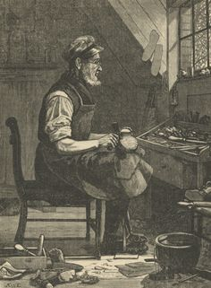 old time shoe maker - Google Search