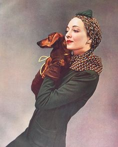 #LouiseDahlWolfe's rich colours infuse this 1937 image with warmth and depth.