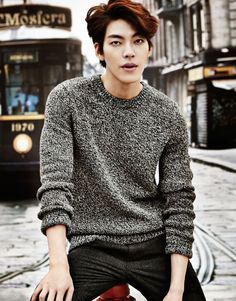 Kim Woo Bin looks flawless in Giordano's Fall campaign Kim Woo Bin, Korean Star, Korean Men, Asian Men, Asian Boys, Lee Hyun Woo, Lee Jong Suk, Asian Actors, Korean Actors