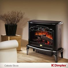 Pot Belly Stove Electric Fireplace At Big Lots For The