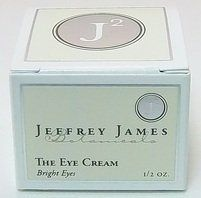 The Eye Cream- Bright Eyes - 0.5 oz - Cream by Jeffrey James Botanicals. $32.39. The Eye Cream- Bright Eyes by Jeffrey James Botanicals 0.5 oz Cream The Eye Cream- Bright Eyes A delicious combination of organic aloe vera organic green tea organic licorice organic eyebright vitamins C E and organic oregon grape to help smoothe fine lines and nourish the delicate eye area. Suggested Use As a dietary supplement Take a small amount and pat all around the eye area. Use mornin...