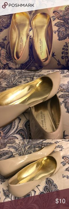 0873f541b0 Sole Society flats cream patent Julianne Hough 10 Size 10B cream or taupe  colored Julianne Hough