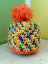 Handmade hat for children - Handmade dětská čepice #handmade #hat #children #modrykonik