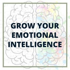 Become more emotionally intelligent. Increase your EQ or Emotional IQ.  Activity to increase your self awareness. Positive psychology tips and ideas to be more emotionally aware of your feelings and others' emotions. Grow self awareness in relationships for women and for millennials. Developing Emotional IQ and emotional intelligence. What is emotional intelligence? Increase Intelligence, What Is Emotional Intelligence, Positive Psychology, Self Awareness, Workplace, Mental Health, Leadership, Relationships, Positivity