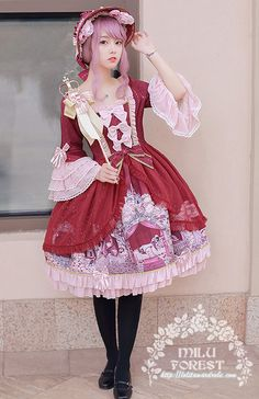 Milu Forest -The Curse of Sleeping Beauty- Lolita OP Dress