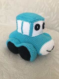 Amigurumi Sevimli Araba Tarifi See other ideas and pictures from the category menu…. Crochet Chain Stitch, Baby Album, Sewing Stitches, Cute Cars, Amigurumi Toys, Double Crochet, Crochet Toys, Free Knitting, Lana