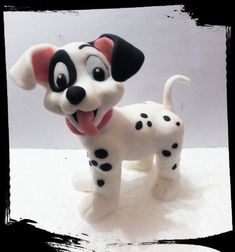 Dalmation puppy on all fours