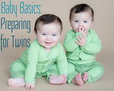 """After the shock of being pregnant with twins sets in, the shock of """"HOLY CRAP I HAVE TO BUY TWO OF EVERYTHING""""…"""