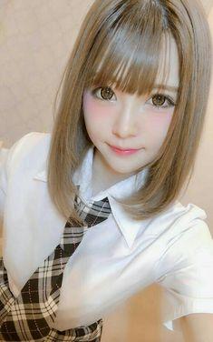 Cute Asian Girls, Beautiful Asian Girls, Sweet Girls, Cute Girls, Japanese Models, Japanese Girl, Cosplay Kawaii, Cute Kawaii Girl, School Girl Japan
