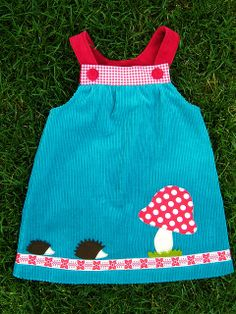 Ella Hedgehog Dress Ottobre 1/2009 - hab ich!!!