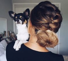 Braided updo by Ashley Marie Bloomfield