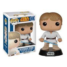 Funko Star Wars Tatooine Luke Skywalker Pop! Vinyl Bobble Head