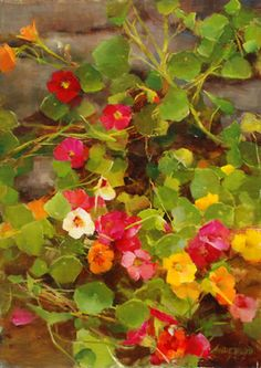 Summer Jewels, oil, Kathy Anderson