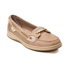 Shop for Womens Sperry Top-Sider Angelfish Boat Shoe in Tan Linen at Shi by… - zapatos de mujer Sperry Shoes, Ugg Shoes, Shoe Boots, Boat Shoes Outfit, Sperry Top Sider Angelfish, Sperrys Women, Uggs For Cheap, Cheap Boots, Boat Fashion