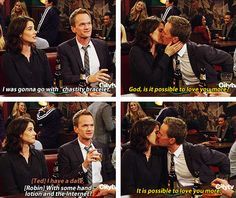 How I Met Your Mother *Will forever be angry about the ending. FOREVER*