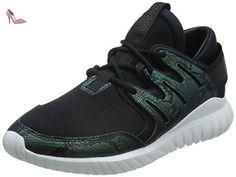 Cloudfoam Lite Racer, Chaussures de Running Entrainement Homme, Noir (Core Black/Solar Yellow/Footwear White), 45 1/3 EUadidas