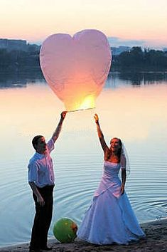 Sky Lanterns- awww reminds me of my hubby
