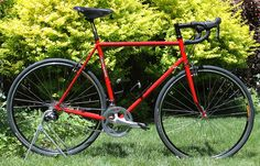 Ben's Cycle / Milwaukee Bicycle Co.: Hot Off The Stand: Fire Engine Red Road Bike