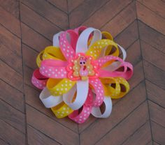 A personal favorite from my Etsy shop https://www.etsy.com/listing/255583092/thanksgiving-hair-bow-turkey-hairbow