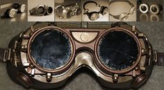 7 tutorials for DIY Steampunk goggles