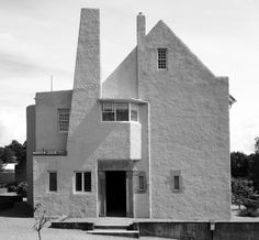 Hill House, Charles R Mackintosh, 1902-04, Helensburgh, Scotland