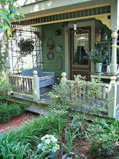 Beautiful, tiny porch