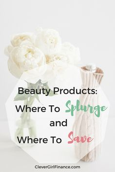 "I get asked quite often if it's worth spending a lot of money on beauty and hair products and my answer is usually ""it depends"".  I always use myself as an example because I've been a product junkie in the past and through trial and a lot of error, I've finally been able to figure out which types of products are worth the splurge and which ones aren't (for me)."