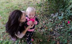 Raylann smelling a rose at Merom Bluff Park in Merom Indiana captured by Wandering Ways Photography 2016