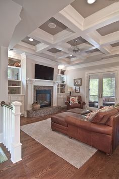 Leather Furniture Design, Pictures, Remodel, Decor and Ideas - page 35