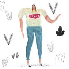 Illustration by Natalie Adkins  #Illustration #illo #illustrator #illustratedladies #natalie adkins