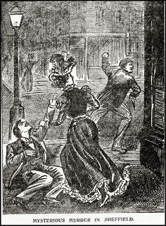 """The Illustrated Police News, 1900."""