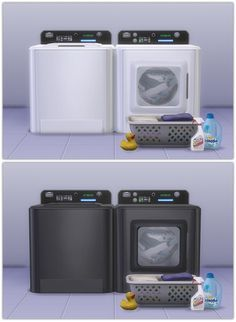Sims 4 | More Colors for PlumbobCenter's Washer & Dryer #13pumpkin31 buy mode laundry deco 3t4 conversion