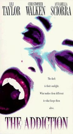 The Addiction vhs cover