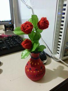 Rositas a Crochet Crochet roses