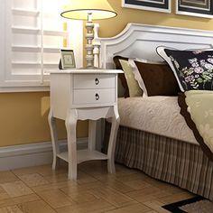 Anself White Bedside Table Telephone Cabinet 2 Drawers Be... https://www.amazon.co.uk/dp/B01KVEKO14/ref=cm_sw_r_pi_dp_x_kH8TybBMR5WD1