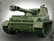 Soviet 2S3 Akatsiya (SO-152) Self-Propelled Artillery Free Paper Model Download