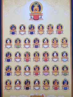 Buddhas of Purification called the 35 Confession Buddhas