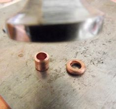 Flatten short pieces of tubing to make organic looking rings - from Mary Jane Dodd. #Wire #Jewelry #Tutorials