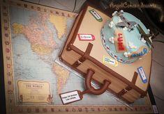 travel cakes | Vintage travel Cake - by AngeliCakes @ CakesDecor.com - cake ...