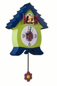 Cuckoo Kingdom, Inc - MeowCoo Clock, Novelty Cat Cuckoo Clock, Model