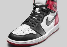 on sale 0fcfb dcd60 Air Jordan 1 Retro High OG Black Toe 2016 Release Date - Air 23 - Air  Jordan Release Dates, Foamposite, Air Max, and