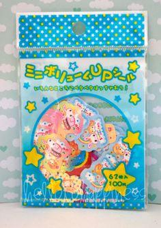 Crux Sweet Usatan Dessert  rabbit sticker sack flakes, very kawaii