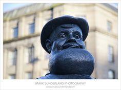 Deperate Dan Statue, Dundee, Scotland