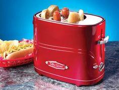 ソーセージとパンが同時に焼ける「Hot Dog Toaster(ホットドッグトースター)」