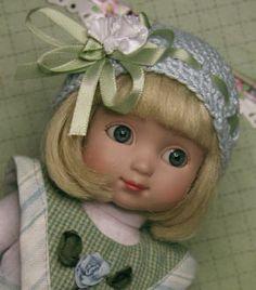 "Hats Only! Pattern 2 Sew 4 Ann Estelle & Other Like 10"" Dolls AE-4004 By Eli | eBay"